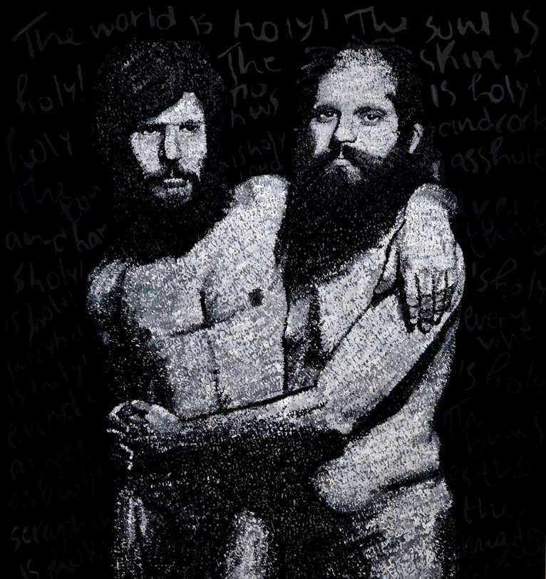 Peter Orlovsky & Allen Ginsberg