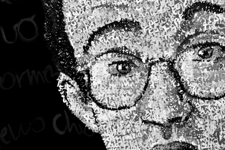 Keith Haring. Detail