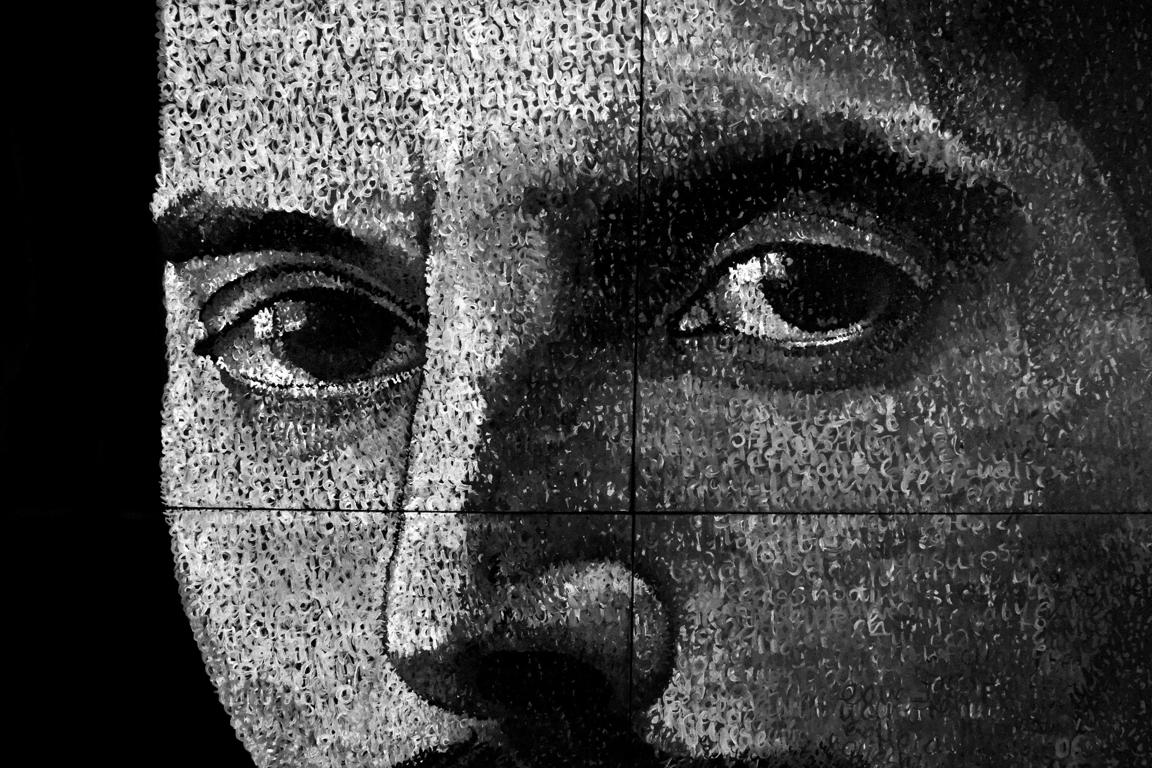 Freddie Mercury. Detail